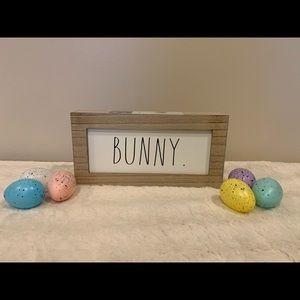 Rae Dunn Bunny sign